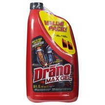 Drano Max Twin Pack 80oz