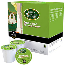 Green Mountain Coffee Colombian Fair Trade Select K-Cups