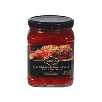 Kroger Private Selection Tart Cherry And White Peach Fruit Filling For Baked Desserts