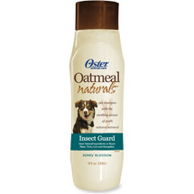 Oster Oatmeal Naturals Insect Guard Pet Shampoo Berry Blossom