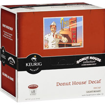Keurig K-Cups Donut House Collection Decaf Coffee