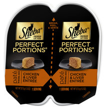 Sheba Perfect Portions Chicken and Liver Entree Cat Food