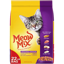 Meow Mix Original Choice Cat Food 13 lbs