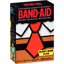 Band-Aid Glow in the Dark Adhesive Bandages
