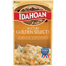 Idahoan: Buttery Golden Selects Mashed Potatoes