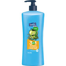 Suave Kids Splashing Apple Toss 3-in-1 Shampoo + Conditioner + Body Wash