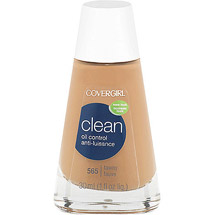 CoverGirl Clean Oil Control Foundation TAWNY 565