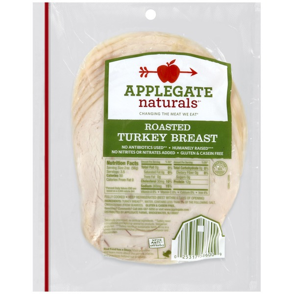 Applegate Natural Oven Roasted Turkey Breast - Family Size