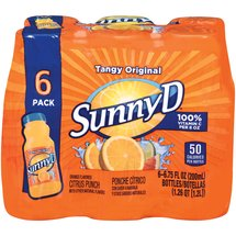 Sunny D Tangy Original Punch
