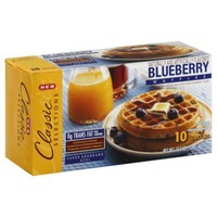 H-E-B Classic Selections Blueberry Waffles