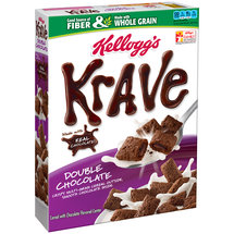 Kellogg's Krave Double Chocolate Cereal