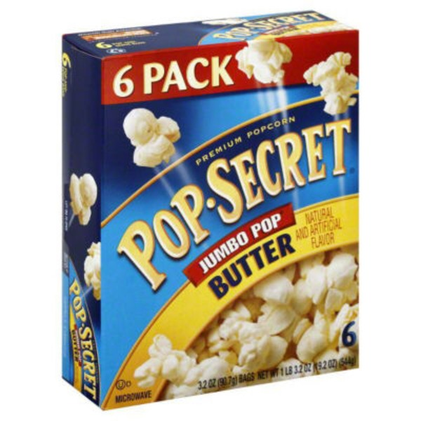 Pop Secret Jumbo Pop Butter Popcorn