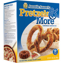 Auntie Anne's Pretzels & More Homemade Pretzel Baking Mix