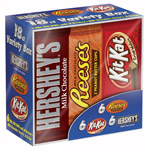Hershey's Full-Size Bars Variety Pack Candy