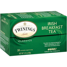 Twinings Of London Irish Breakfast Tea Bags
