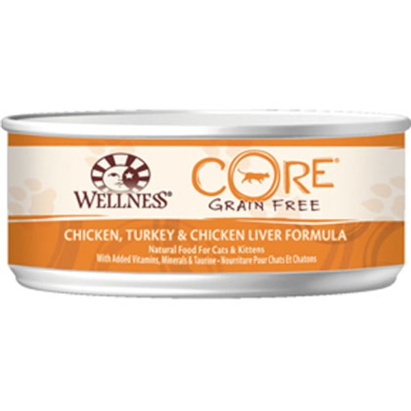 Wellness Core Grain Free Beef, Venison & Lamb Formula Natural Food For Cats