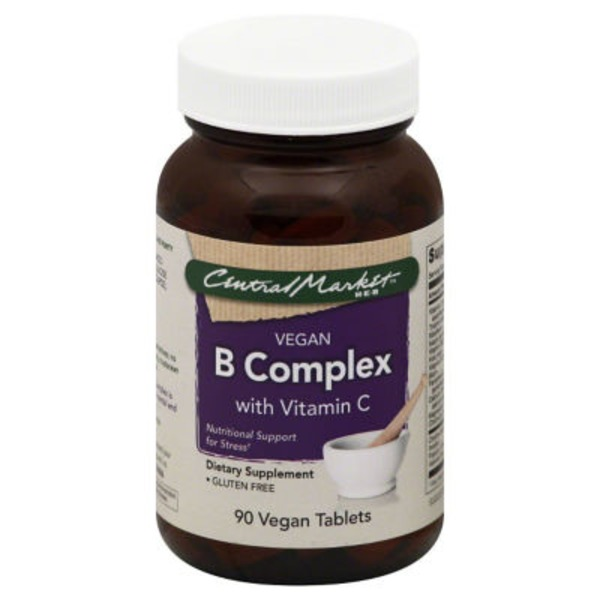 Central Market Vegan B Complex Tablets