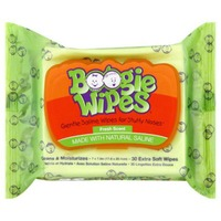 Boogie Wipes Fresh Scent Extra Soft Saline Wipes - 30 CT