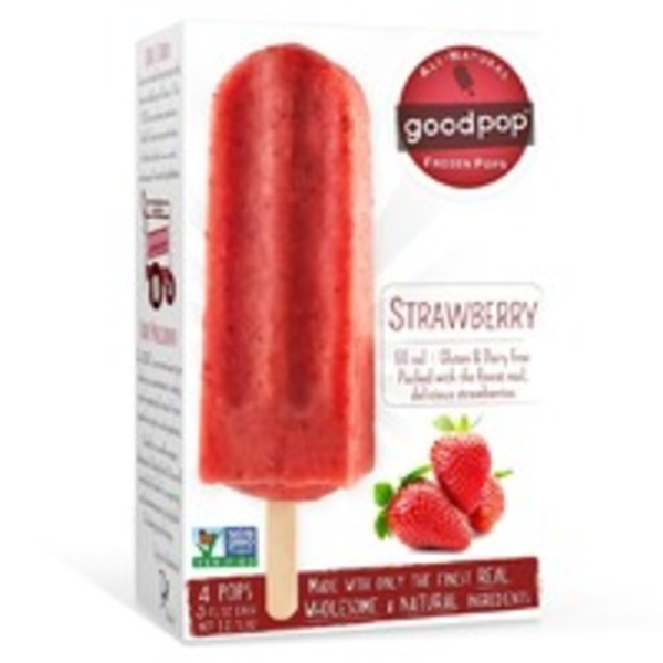 GoodPop Strawberry Fruit Bars