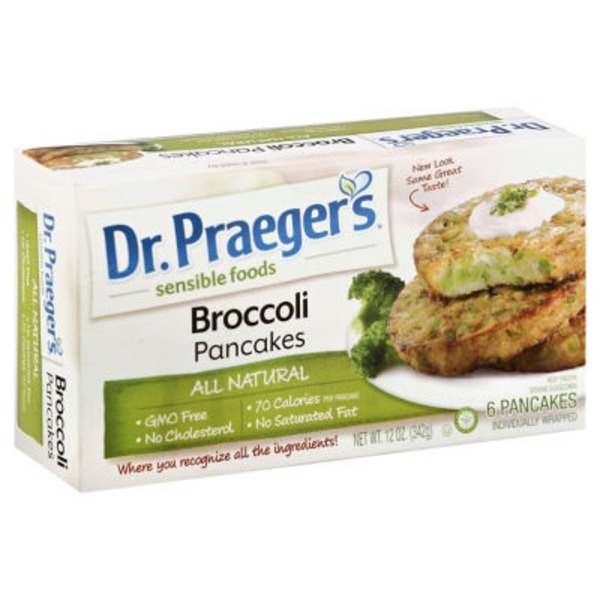 Dr. Praeger's Broccoli Cakes - 6 CT