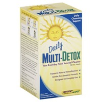 Renew Life Multi-Detox, Daily, Vegetable Capsules