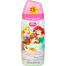 Disney Princess Berry Bouquet 3 in 1 Body Wash Shampoo & Conditioner