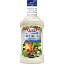 Kraft Salad Dressing: Dressing & Dip Buttermilk Ranch 16 Fl Oz