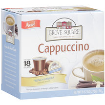Grove Square Coffee French Vanilla Cappuccino