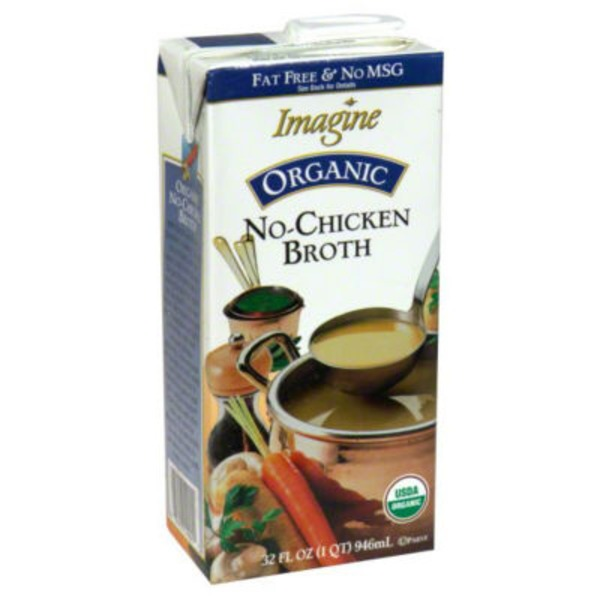 Imagine Foods Organic Broth Vegetarian No-Chicken