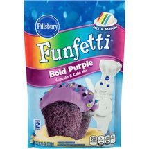 Pillsbury Funfetti Bold Purple Cupcake & Cake Mix