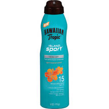 Hawaiian Tropic Island Sport Spray Sunscreen SPF