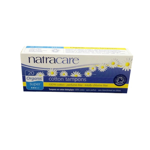 Natracare Super Tampon