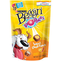 Purina Beggin' Party Poppers Bacon & Cheese Flavors Dog Treats