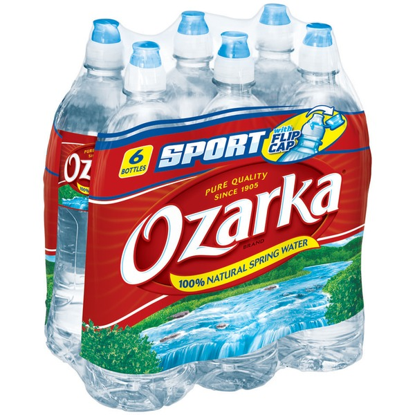 Ozarka Water, 100% Natural Spring, Sport
