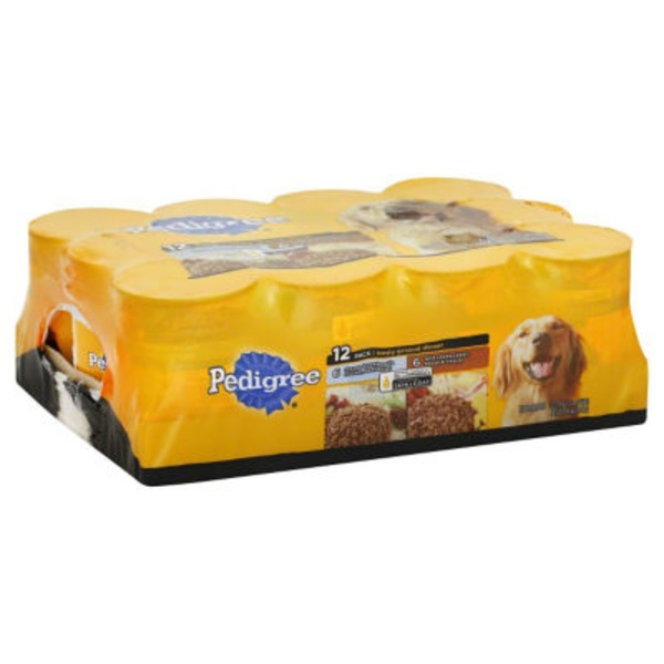 Pedigree Meaty Ground Dinner Variety Pack