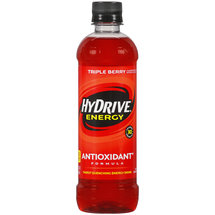 HyDrive Energy Antioxidant Formula Triple Berry Energy Drink