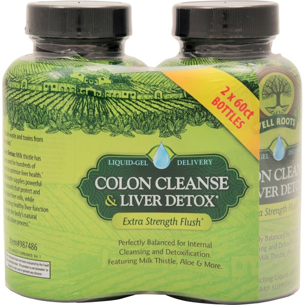 Wellroots Colon Cleanse & Liver Detox