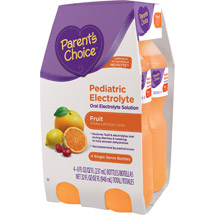 Parent's Choice Fruit Pediatric Oral Electrolyte Solution