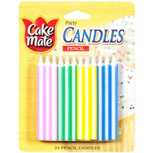 Cake Mate Pencil Candles