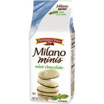 Pepperidge Farm Milano Minis Mint Chocolate Cookies