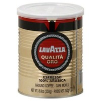 LavAzza 100% Premium Arabica Ground Coffee