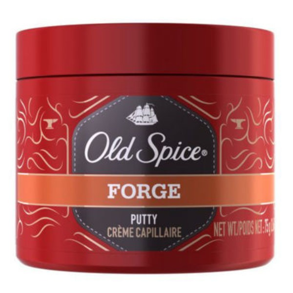 Old Spice Forge Old Spice Putty, 2.64 oz. – Hair Styling for Men Male Hair Care