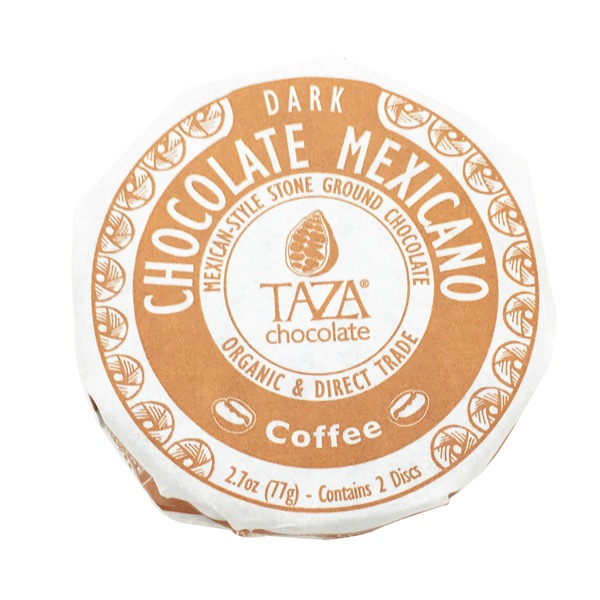 Taza Dark Chocolate, Mexican-Style Stone, Ground, Coffee
