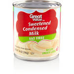 Great Value Sweetened Condensed Fat Free Milk