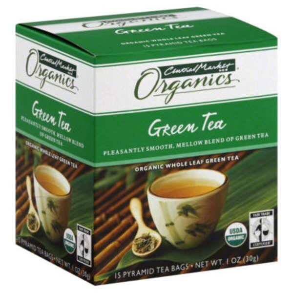 Central Market Organic Green Tea