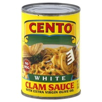 Cento White Clam Sauce with Extra Virgin Olive Oil
