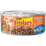 Friskies Chicken and Tuna Canned Cat Food