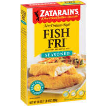 Zatarain's Seasoned w/Real Lemon Fish-Fri Mix