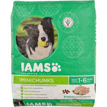 Iams ProActive Health Adult MiniChunks Premium Dry Dog Food