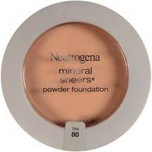 Neutrogena Mineral Sheers Tan 80 Powder Foundation .34 oz